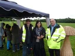 Cllr Yasmin Dar, Shahir & Mike