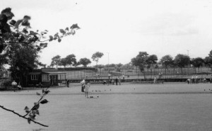 Image of bowls being played